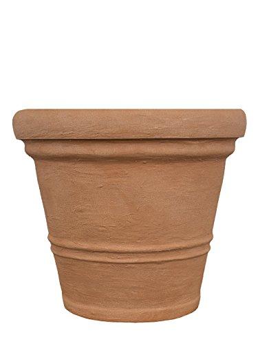 PFLANZWERK® Pflanzkübel Terrakotta ROM Kunststoff BESTSELLER zum BESTPREIS *Größe auswählbar*Frostbeständig* *UV-Schutz* *Qualitätsware*
