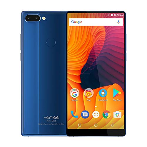 Mouchao Vernee Mix 2 6.0 Zoll 18: 9 Smartphone Android 7.0 Octa Core 4G + 64G mit EU-Stecker