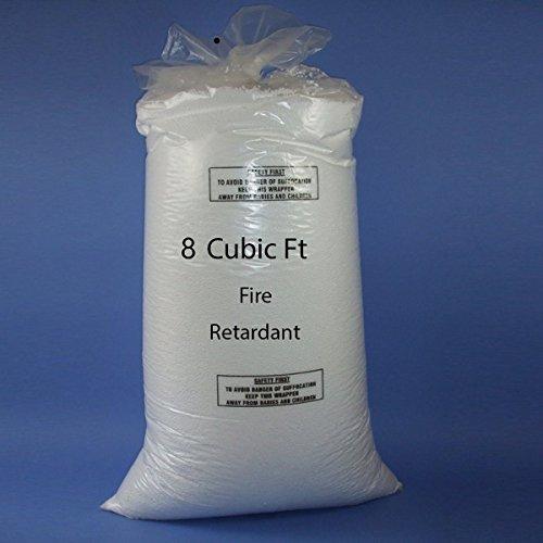 Sitzsack Booster Refill Polystyrol Perlen Füllung Top Up Tasche Bohnen Bälle 8Kubikfuß