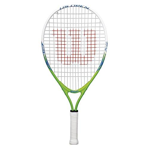 Wilson Kinder-Tennisschläger, US Open 21, 5-6 Jahre, grün/weiß/blau, WRT21010U -
