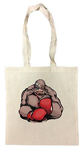 Erido Geschlagen Boxer Einkaufstasche Wiederverwendbar Strand Baumwoll Shopping Bag Beach Reusable -