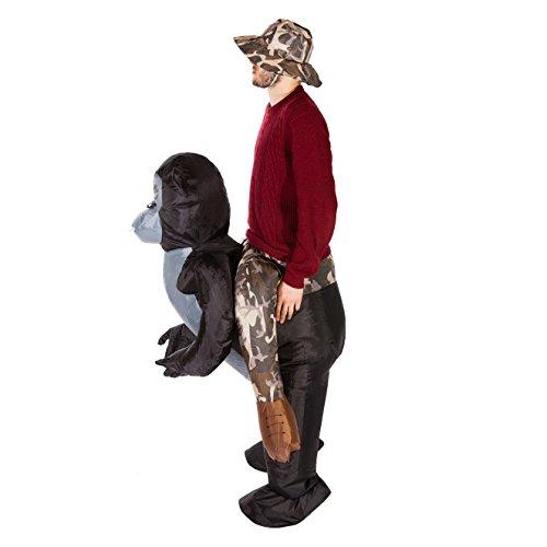 Imagen de hinchable gorila adulto mono disfraz alternativa