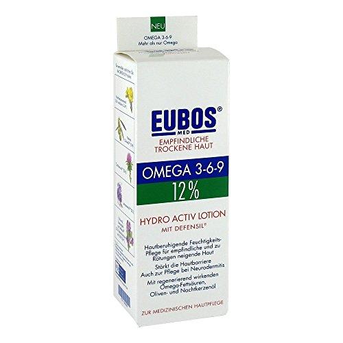 Eubos Omega 3-6-9 Hydro activ Lotion, 200 ml