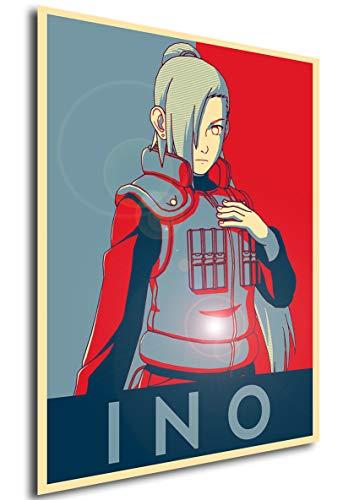 Poster Propaganda Naruto Ino Yamanaka A4 30x21