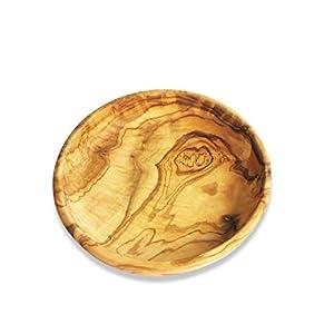 Figura Santa Teller LAMAMMA – Schale aus Olivenholz. Durchmesser 9-10 cm. Mit sehr schöner Maserung. Mit vegetabilem Öl…