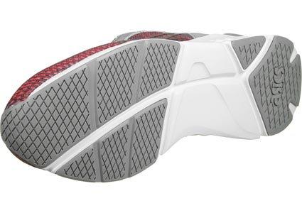 Asics - Lyte Runner Chameleoid Mesh Gel - Zapatillas Para Hombre Gris Rojo