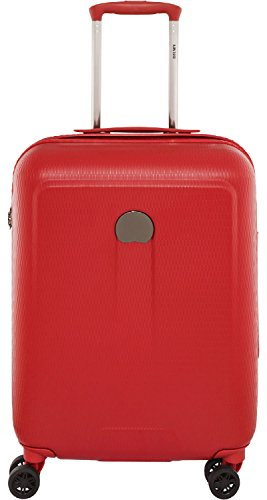Delsey Helium Air 2 Bagage Cabine, 55 cm, 44 L, Rouge