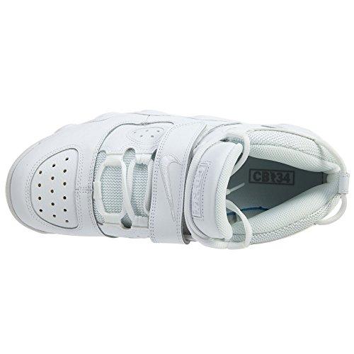 Nike Herren 316940-100 Basketball Turnschuhe Weiß