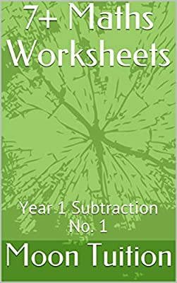7+ Maths Worksheets: Year 1 Subtraction No. 1