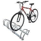 Best Bike Rack Parkings - 4 Bike Stand Floor or Wall mounted bike Review