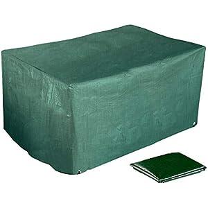 Royal Gardineer Abdeckung Gartenmöbel: Gewebe-Abdeckplane 2er-Lounge-Gartensofa, 120 x 95 x 80 cm, 150 g/m² (Abdeckplane Gartenmöbel)