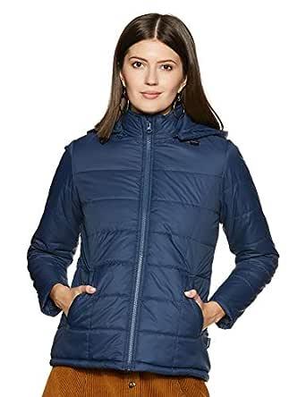 Amazon Brand - Symbol Women's Quilted Jacket (AW19KJ003_Light Navy_L)
