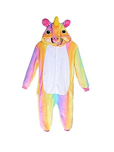 Enfant Licorne Pyjama Animation vêtements Cosplay Animal Combinaison Costume Grenouillère à...