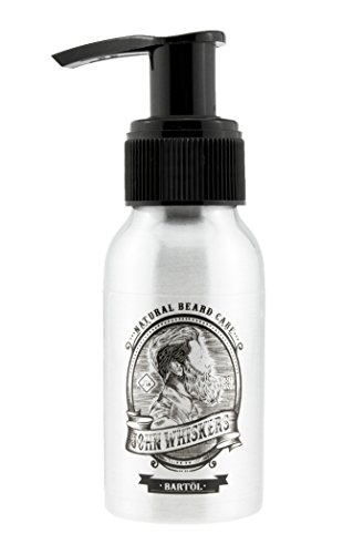 John Whiskers Bartöl Made in Germany - 50ml Vegan Beard Oil mit Arganöl & Weichmacher-Effekt - dezent süß & maskulin im Duft