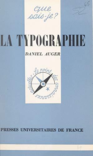 La typographie (French Edition)