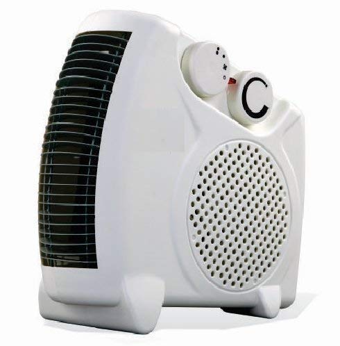 URBAN KING® Fan Heater || Heat Blow || Noiseless Room II White(1000W/2000W) (RANDOM NAME)(1414)