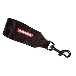Ezydog Ceinture de sécurité pour voiture et adaptable au harnais Noir