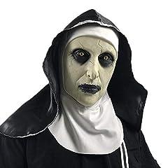 Idea Regalo - Halloween Ghost Festival Orrore Maschera Sorpresa Femminile Fantasma Maschera per Il Viso Maschera Cosplay Latex Spaventoso Testa Piena