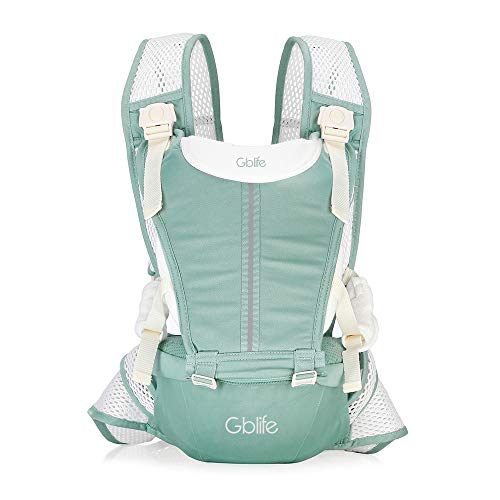 0c434b69c6f6 Breathable Baby Carriers 2 in 1 Sling Baby Hipseat Backpack Ergonomic with  4 Ways to Wear