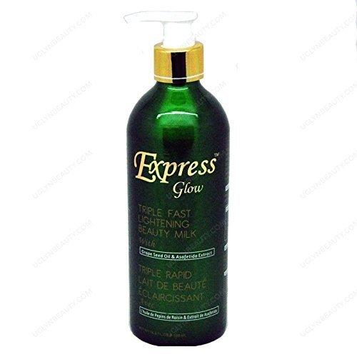Express Glow Tripple Fast Lightening Beauty Milk 16.8 Oz by Express glow - Lightening Milk