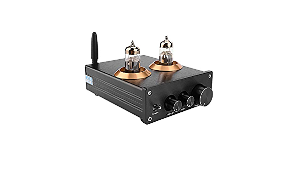 Nero Cimoto Buffer HiFi 6J5 4.2 Tube Preamp Amplificatore Preamplificatore Stereo con Regolazione dei Toni Alti