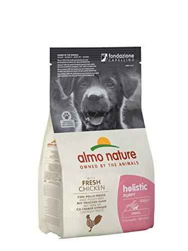 Almo Nature chiot Holistic Small Puppy - Poulet et Riz - Sac de 400 g
