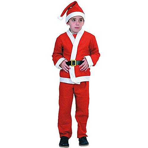 Imagen de disfraz papa noel para niño de 10 12 años