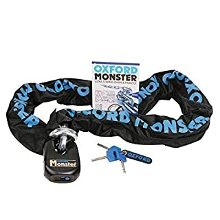 Oxford OF802 Monster Chain & Lock 1.5m