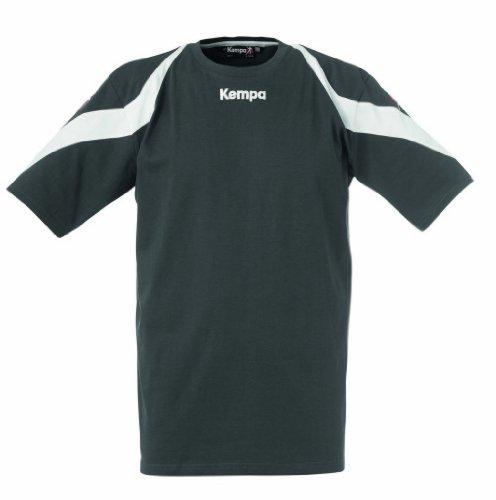 Kempa Tshirt Motion dunkel anthrazit/weiß