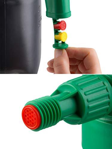 Meister Schaumsprüher - 1,5 Liter Füllinhalt - Drei austauschbare Schaumpatronen - Mit Füllstandanzeige - Geeignet für Reinigungsmittel / Universal-Schaumerzeuger / Pumpsprüher / Handsprüher / 9930710