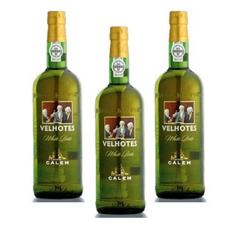 Portwein Calem Velhotes White - Dessertwein- 3 Flaschen