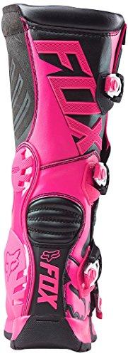 FOX 2016 Motocross/ Enduro Stiefel COMP 5 Frauen – schwarz-pink: Größe Stiefel: 40 EU / 8 US - 4
