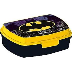 Batman Sandwichera rectangular de 'Symbol' - Bolsas térmicas