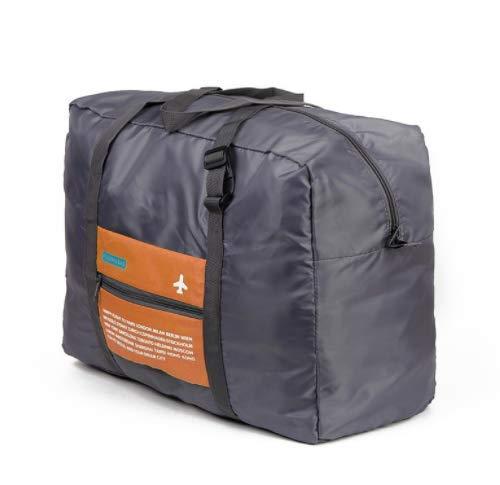 Futurekart Happy Flight Foldable Big Easy Carry-on Luggage Packing Orange Travel Handbag (BL1015)