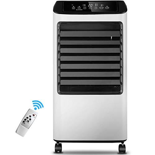 HX Klimaanlage FJZ Home Touchscreen Luftkühler/Fernbedienung Lüfter/Top Open Plus Wasser Elektrischer Lüfter/Klimaanlagenlüfter A Single Cold/B Cold and Warm Dual-Use-Modelle Klimaanlage, Haushal