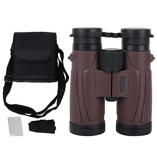 Xinwoer Digitales Fernglas 8x42 Fernglas HD BAK4 Green Film Telescope Wasserdicht, beschlagfrei für Reisen, Sightseeing, Vogelbeobachtung, Wandern, Jagen, Klettern(Kaffee)