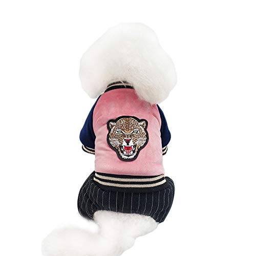 Kostüm Tiger Girls Pink - FITIN PET Cat Dog Kostüme Dog Cats Mantel Mantel Mantel Kleidung Pet Pet Herbst und Winter Tiger Head Coat Doch Dog Dog Cats Kostüme,Pink,L