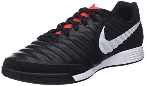 Nike Legend 7 Academy IC, Zapatillas de Fútbol Unisex Adulto, Negro (Black/Pure Platinum/Lt Crimson 006), 42.5 EU