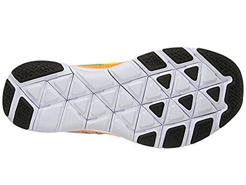 Nike Free Train Versatility, Chaussures de Randonnée Homme Noir (Noir / Volt Total Orange)
