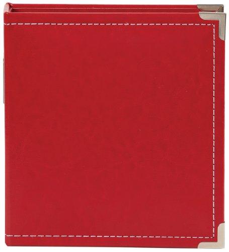 Simple Stories Leder Snap Binder 6x 20,3cm, Rot (Long Leder Snap)