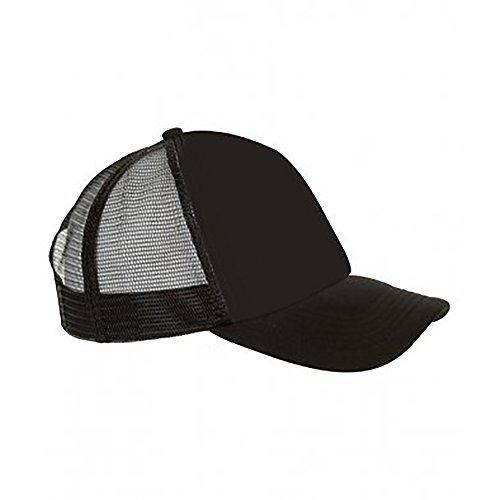 Sols - bubble - cappellino con visiera e colori a contrasto - unisex (taglia unica) (nero)