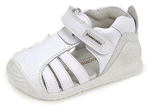 Biomecanics Unisex Baby 172142 Lauflernschuhe, Weiß Weiß (White)