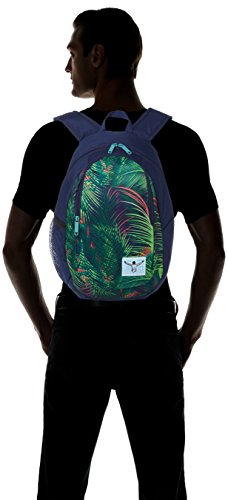 Chiemsee - Crystal, Zaino Unisex - Adulto Mehrfarbig (Palmsprings)
