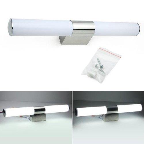 Sonline 60LED 2835SMD 6500K 750LM 12W Lampara de Pared Espejo para Bano Luz Blanco