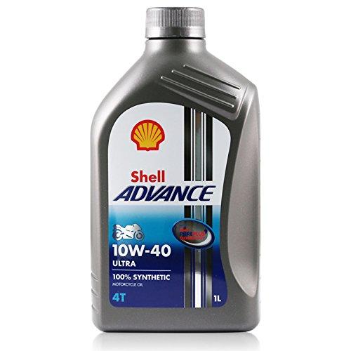 Shell Advance 4T Ultra 10w-40 100% Synthetic Motorcycle Oil 1 Litro Eu/lt 11,50