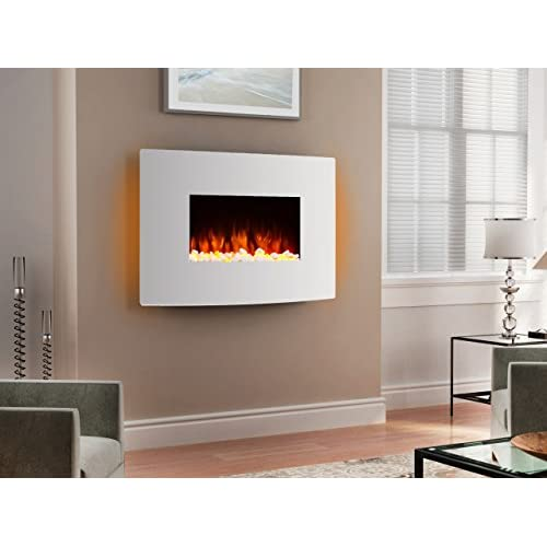 41B%2Bd1y804L. SS500  - Endeavour Fires Egton Wall Mounted Electric Fire, White Curved Glass, 1&2kW, 7 day Programmable remote control (W 910mm…
