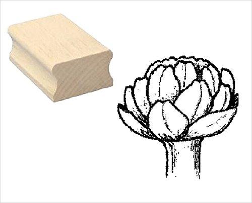 Stempel Holzstempel Motivstempel « ARTISCHOCKE » Scrapbooking - Pflanze