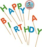 Disney Planes'Happy Birthday Kerzen, Zahnstocher