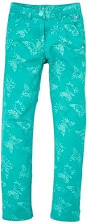 Esprit - Pantalon de sport - Fille - Vert - FR: 24 mois (Taille fabricant: 92)