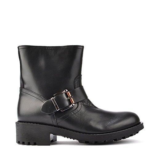 Mally 3709 Stivali, Donna 37 EU Nero